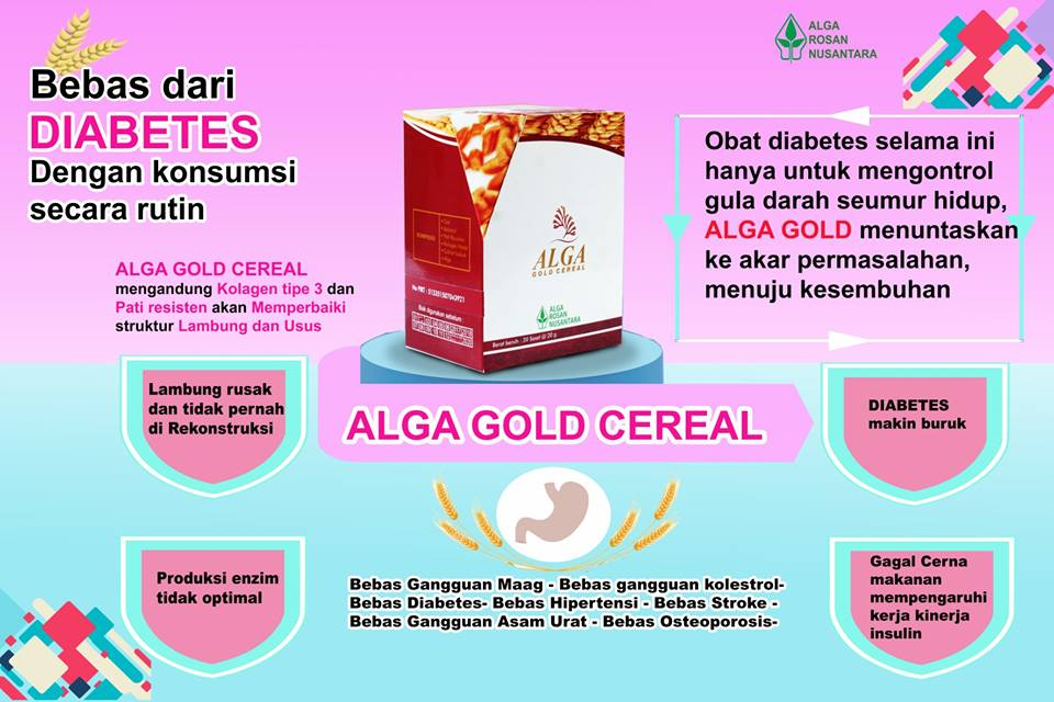 alga gold cereal