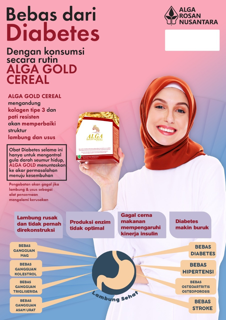 Alga Gold Cereal Murah