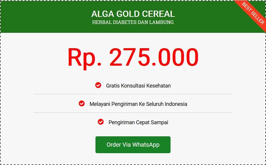 alga gold harga